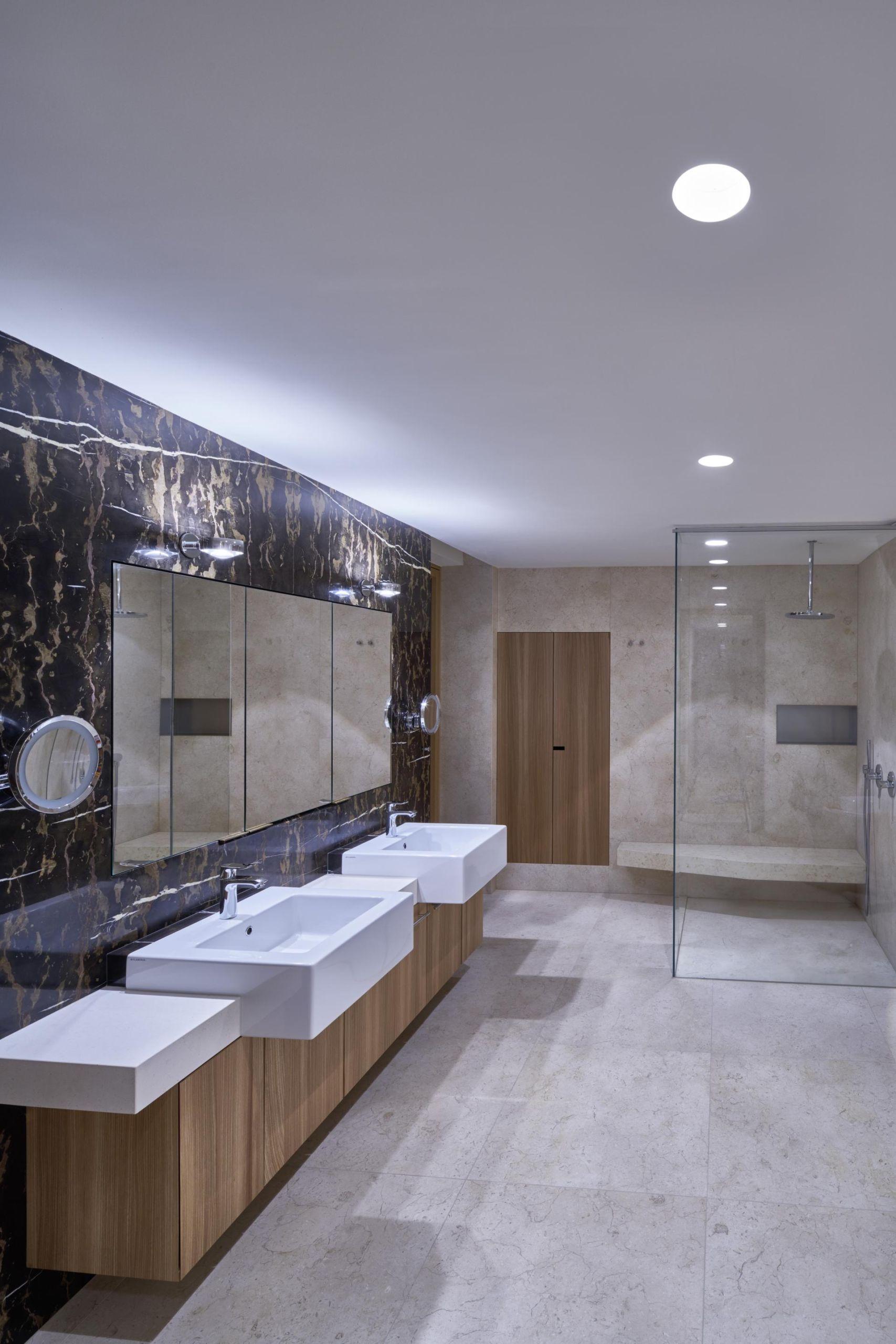 Iluminación en cuartos de Baño - Iluminación Singular